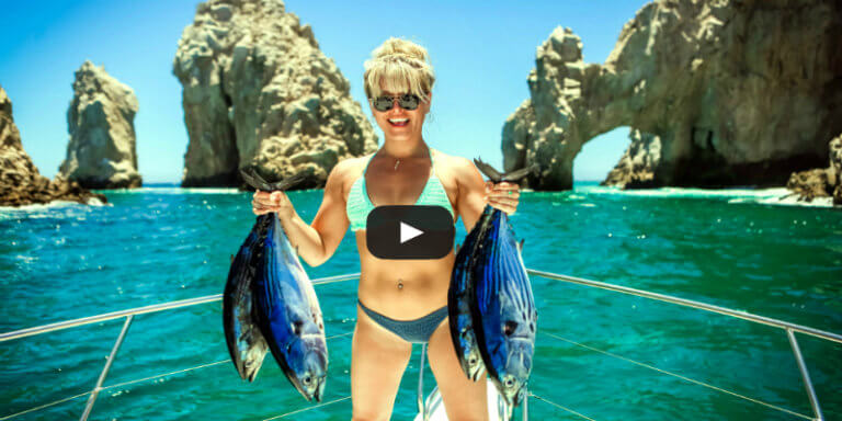 Blue Sky Cabo a Day of Fishing