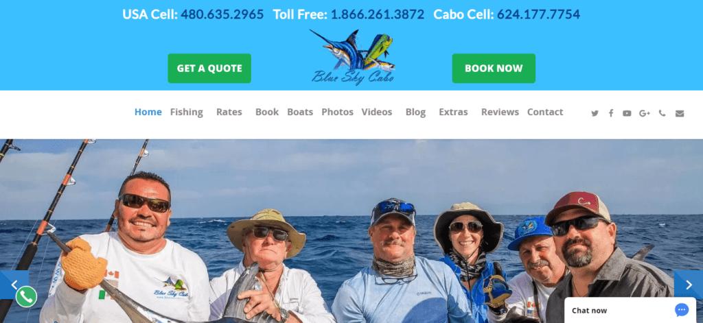CaboViVO Website Portfolio